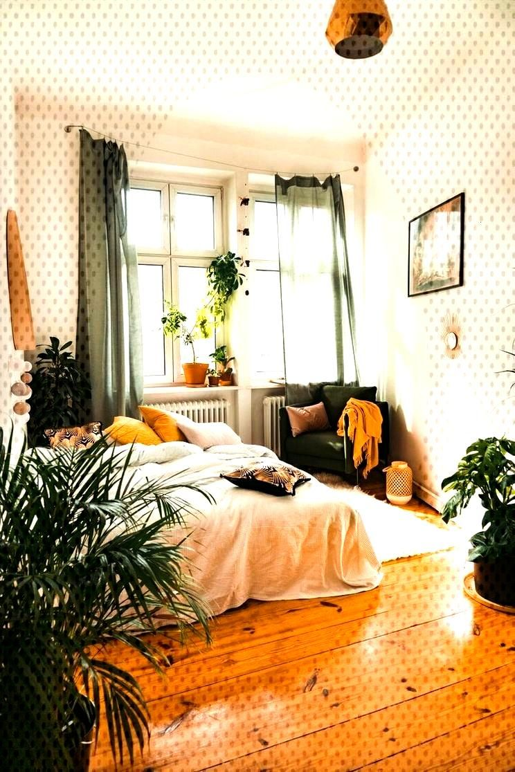 ↗ 49 Models Inspiring Boho Style Rooms 28 -   -
