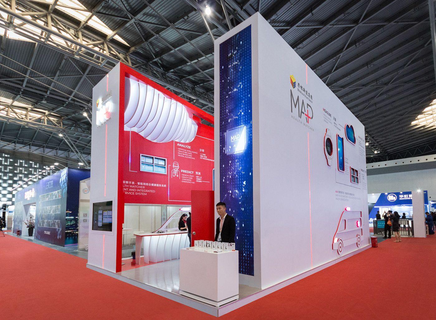 Map Healthwatch Pavilion Csitf 2019 On Behance Pavilion Design