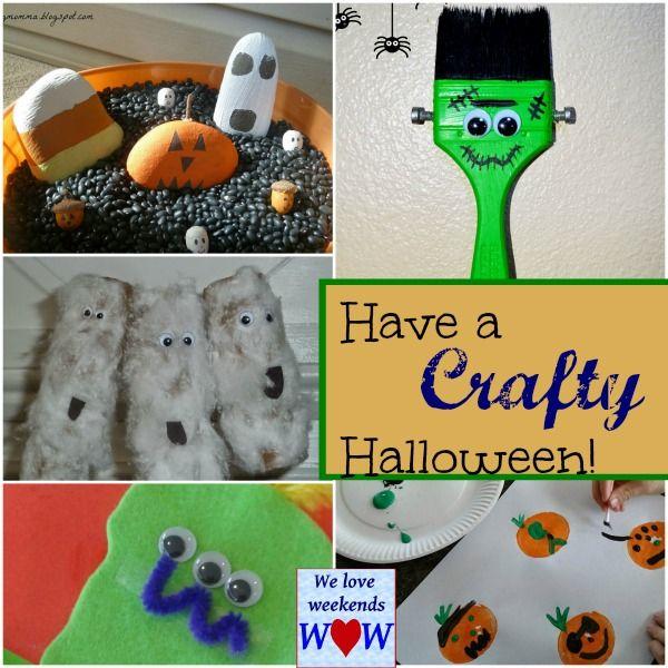 Crafty Halloween and We Love Weekends linky Child\u0027s play - halloween activities ideas