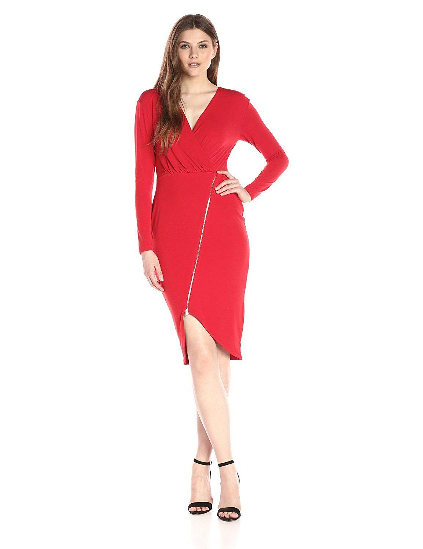 02b9d04cc49 Rachel Rachel Roy Women s Long Sleeve Zip Front Dress -- Special product  just for you. See it now!   Dresses
