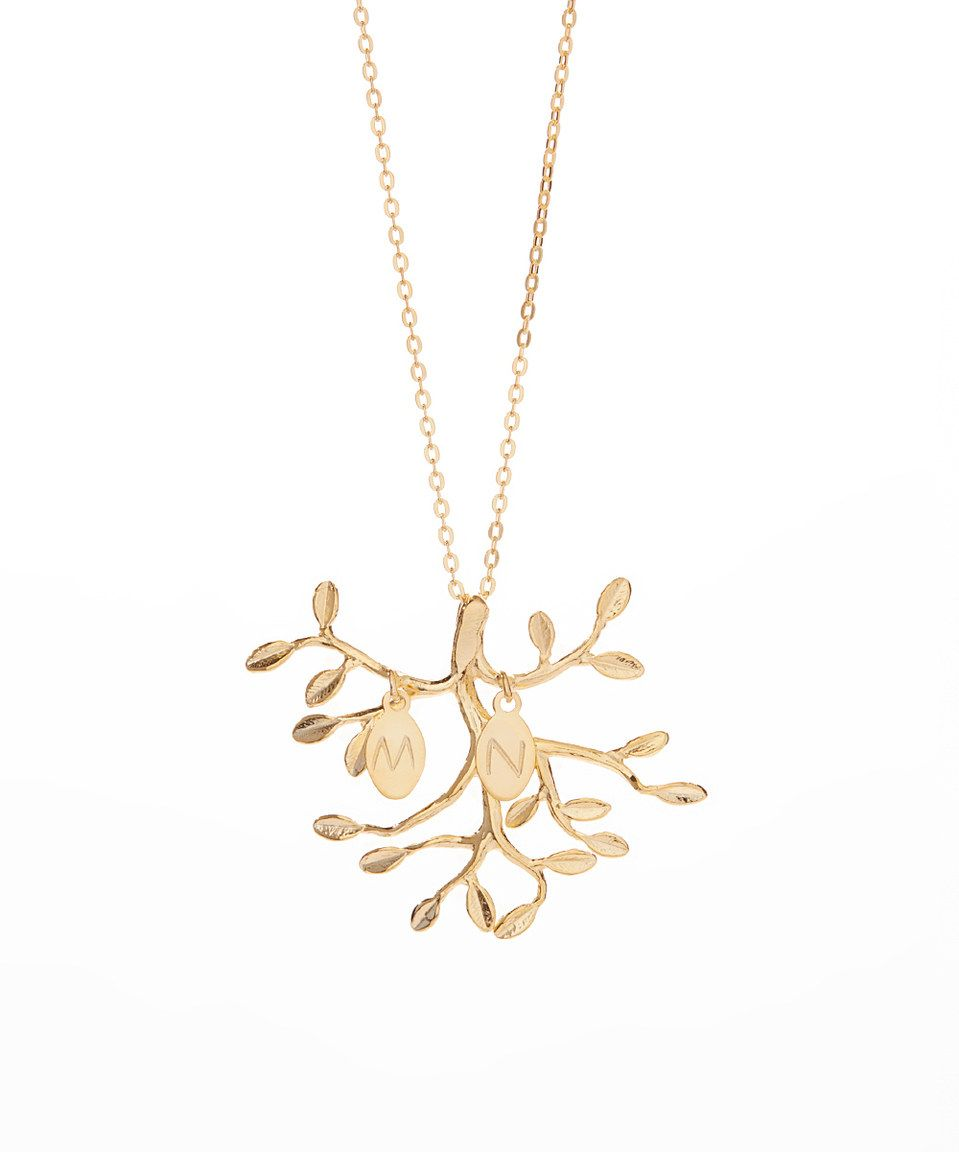 branch necklace en gold olive plated bracelet global