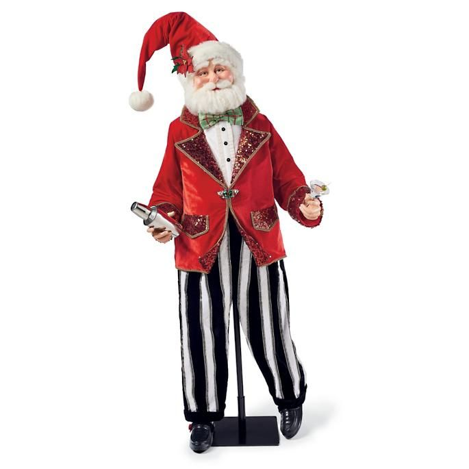 Bartender Santa