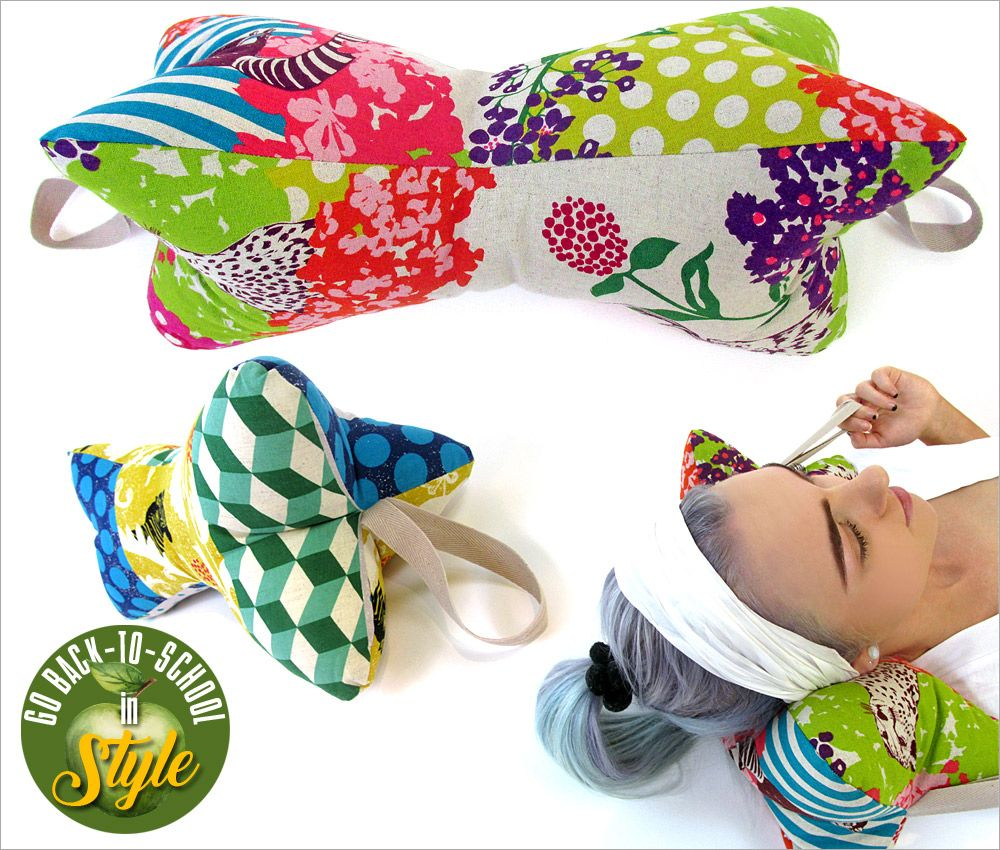 30-Minute Neck Pillows: Go Back-to-School in Style | Sew4Home ...