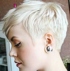 18+ Fantastic Quick Hairstyles Ideas #shortpixie