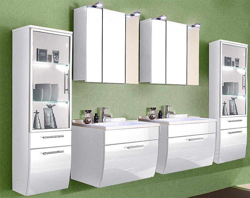 Badezimmer spiegelschränke ~ Badezimmer toronto in hochglanz weiß jetzt bestellen unter: https