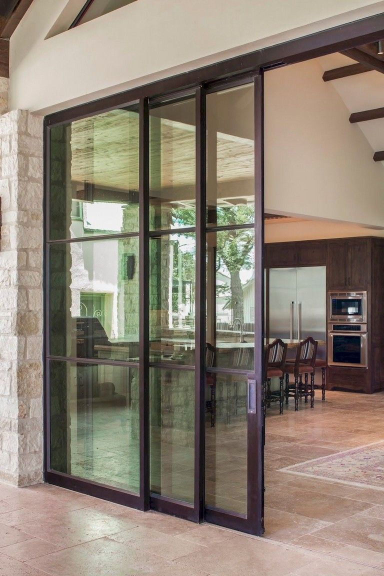 45 Newest Sliding Glass Door Decorating Ideas In 2020 Glass