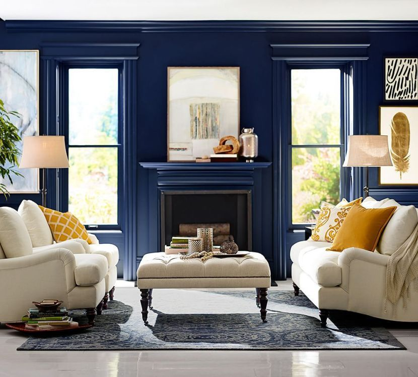 28++ Pottery barn living room colors information
