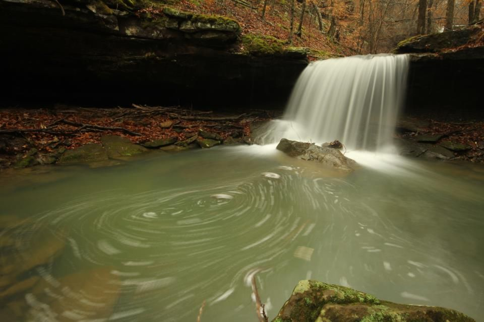 Lower Stepp Creek Falls In Newton County Photo By Greg Grim Newton County Photo Lower