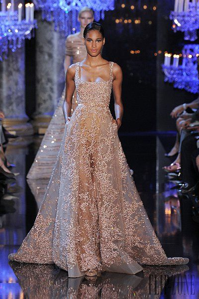 e1766fbced55 Elie Saab Fall-winter 2014-2015 - Couture