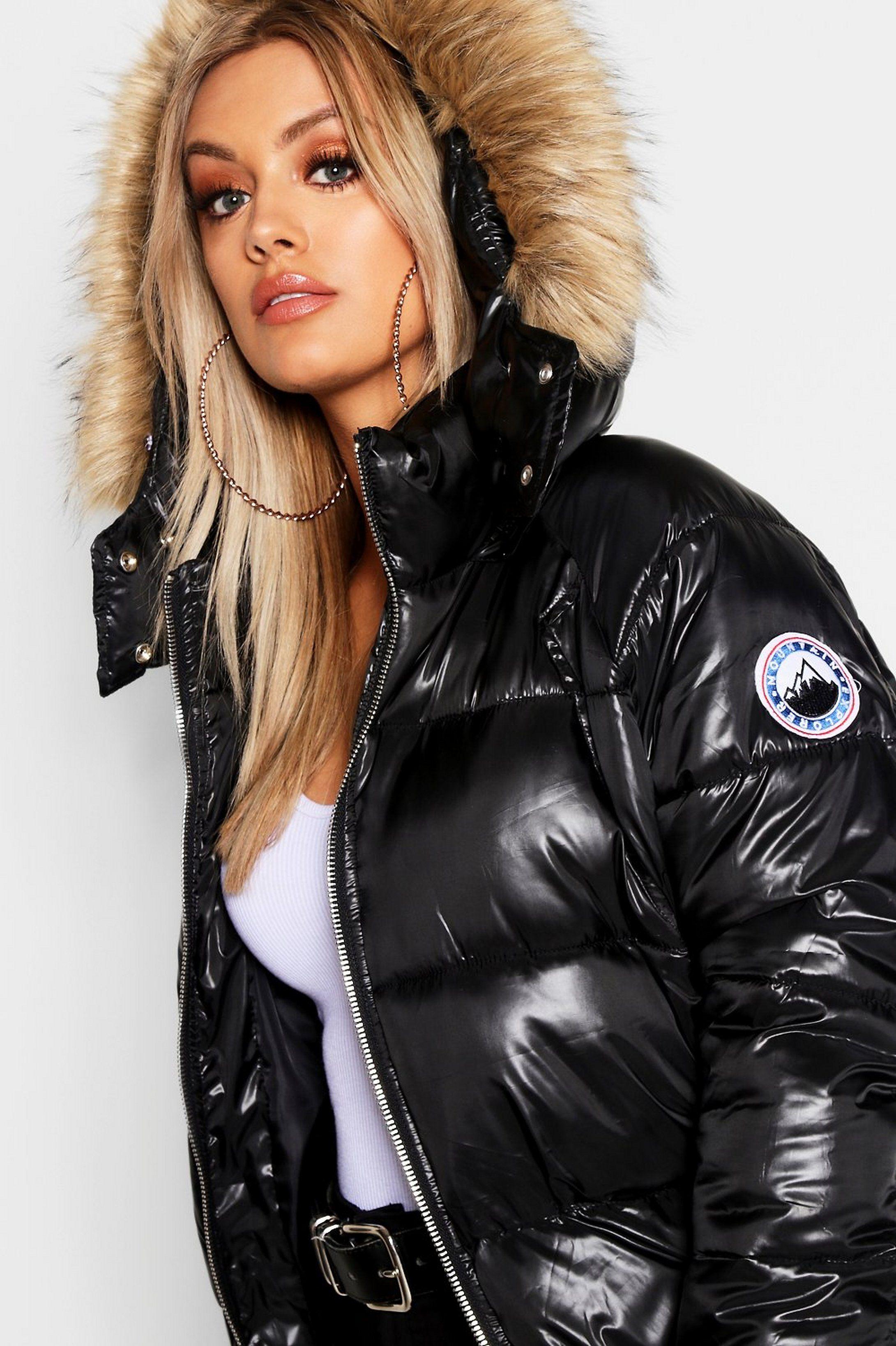 New Mens Bomber Jacket Detachable Hood Faux Fur Designer Warm Outerwear XS S M