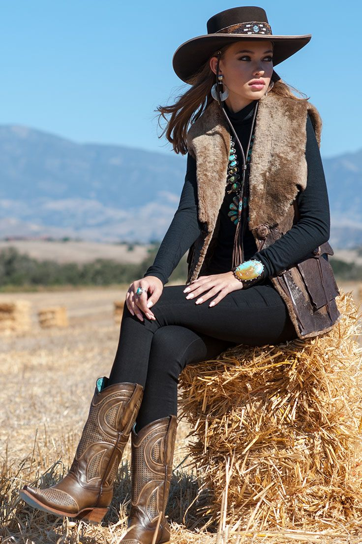 Cowgirl Winter Fashion Refugio Road Cowboy Outfits