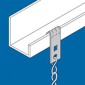 Purlin Clips for Chain & Wire - http://www.hall-fast.com/fasteners ...