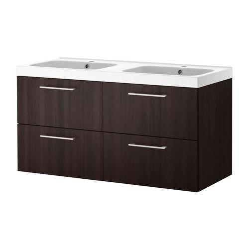 GODMORGON/ODENSVIK Sink Cabinet With 4 Drawers   Black Brown   IKEA