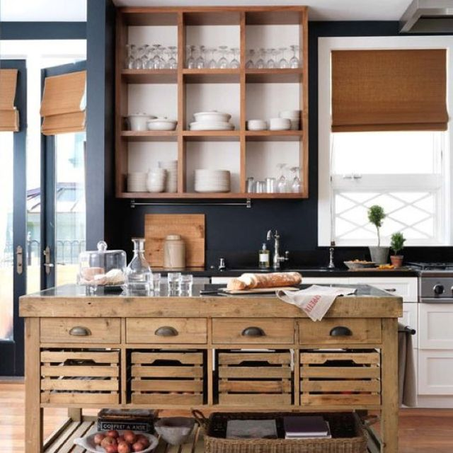 apartment therapy  the kitchen repurposed   reclaimed   nontraditional kitchen island   apartment      rh   pinterest co uk