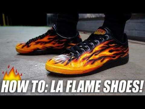 a8aa5585e8fd04 (49) MOST FIRE SNEAKER CUSTOM EVER!