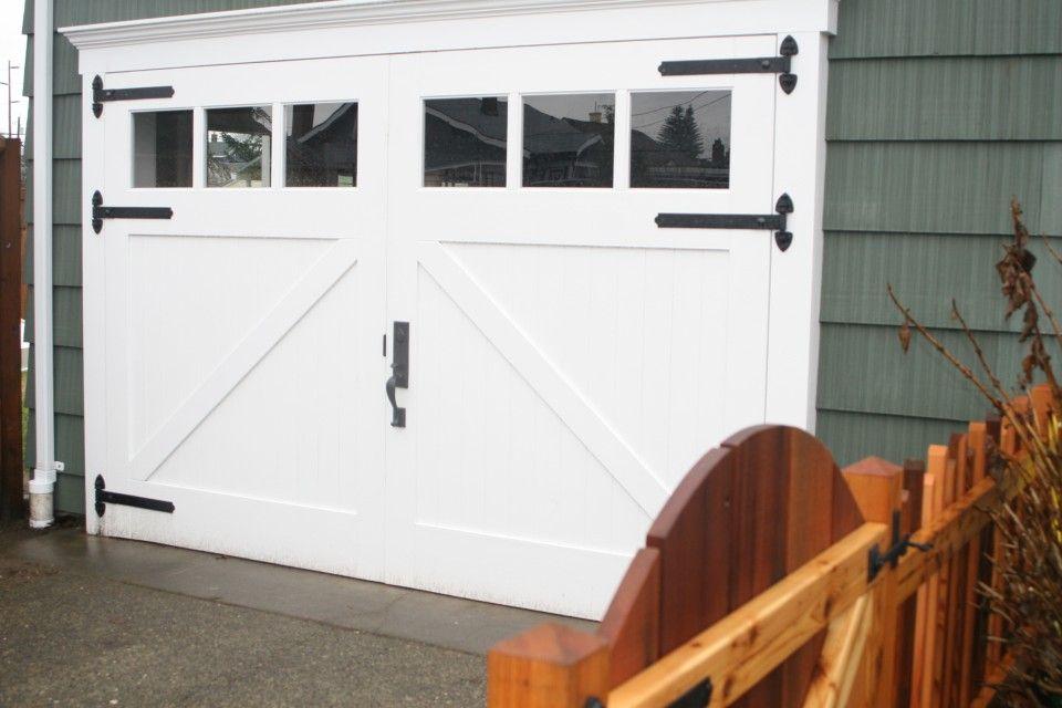 Mid Century Cottage Renovation Cottage Renovation Carriage Style Garage Doors Garage Design