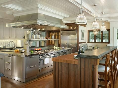 Farmhouse-Style Kitchen Pictures, Ideas  Tips From gewerbliche