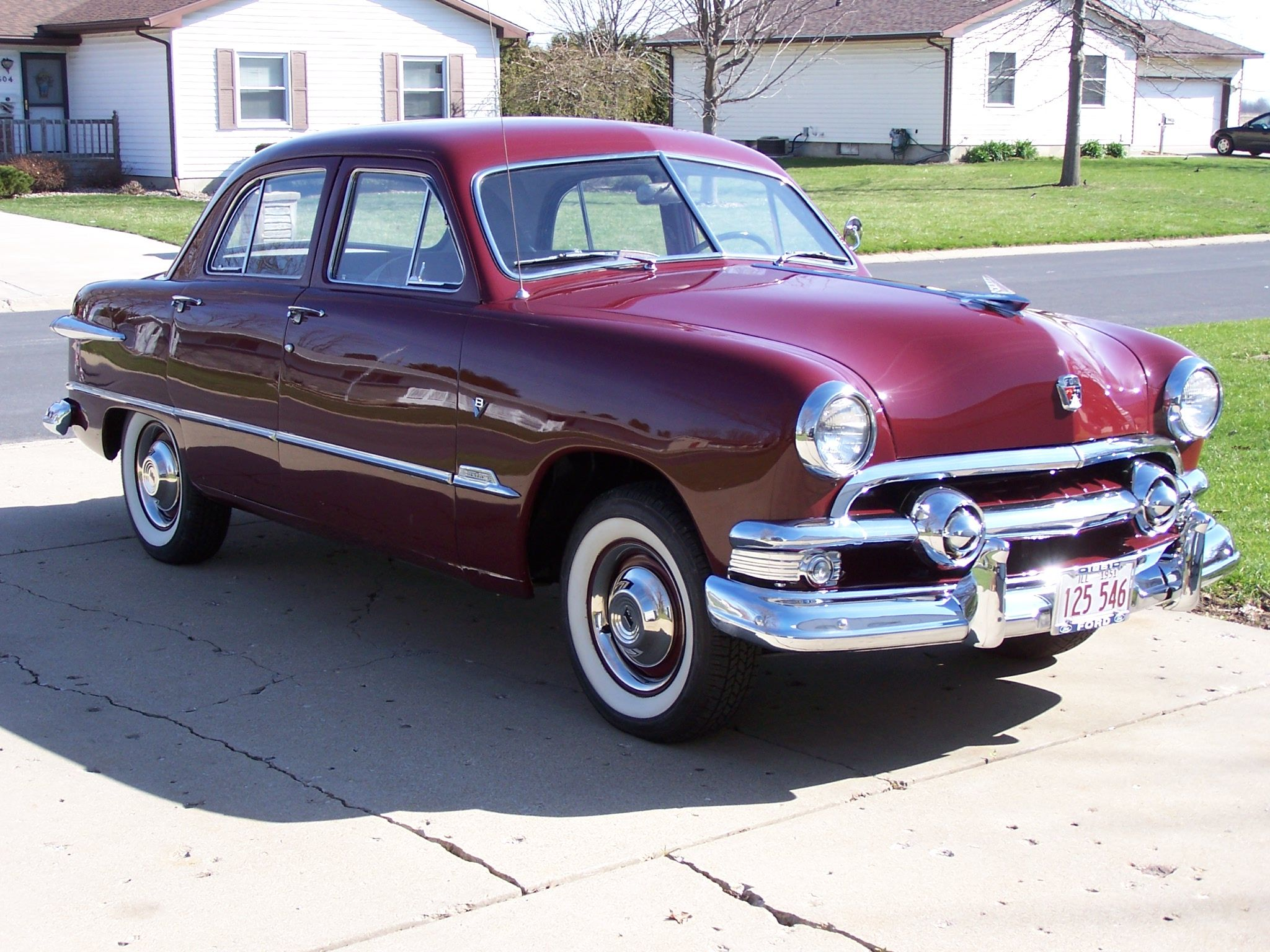 1951 Ford Custom. My very first car...stick shift. | ford car ...