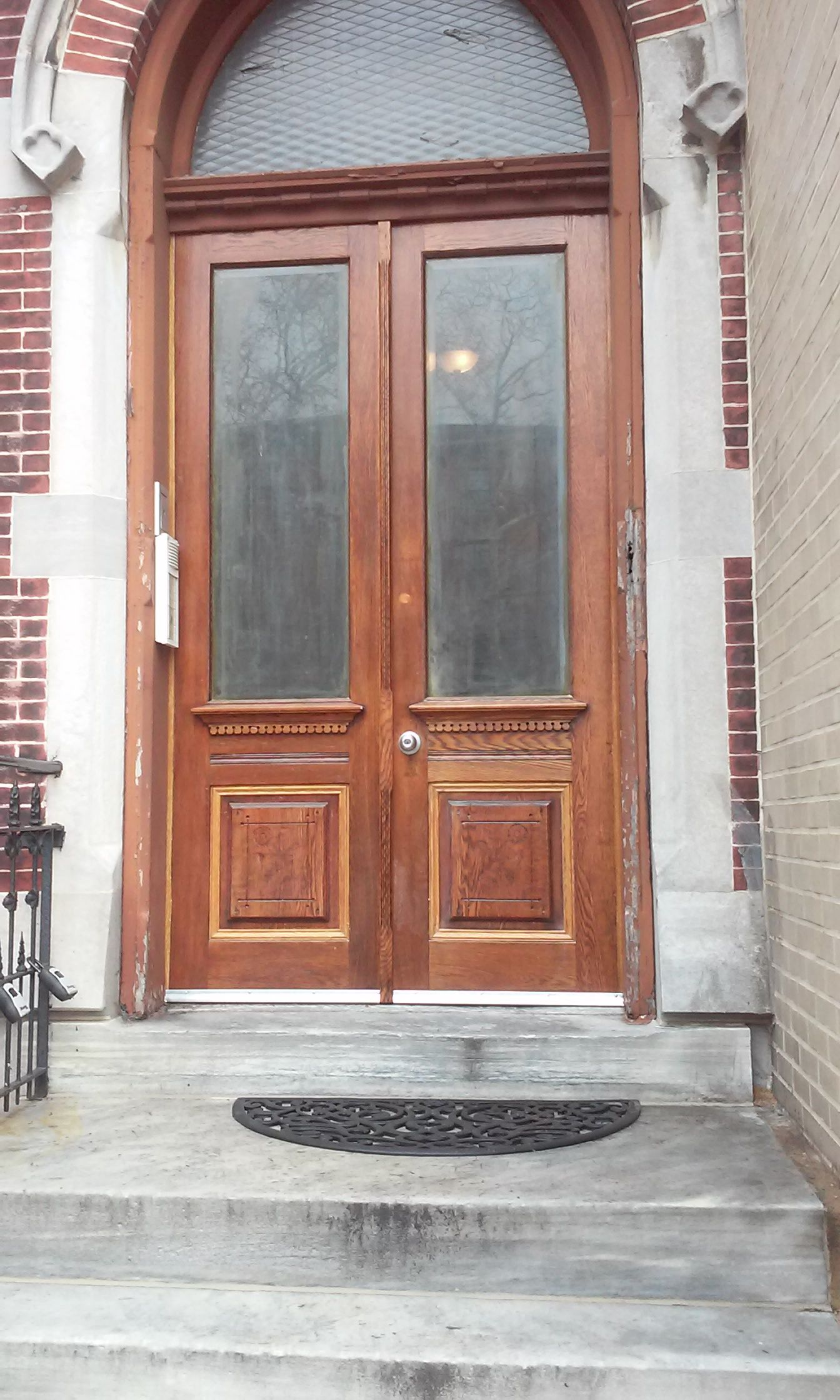 Refinished Double Entry Wood Doors 10 Twin Double Entry Doors In