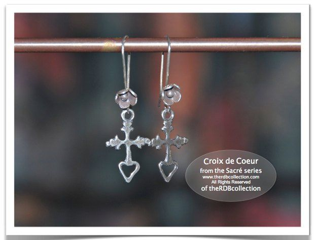 Get these Sterling Cross Earrings from theRDBcollection ...