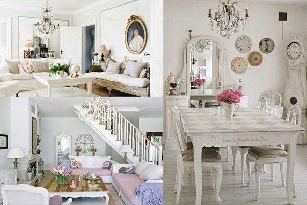 90 idées de décoration avec des meubles shabby chic | Shabby and ...