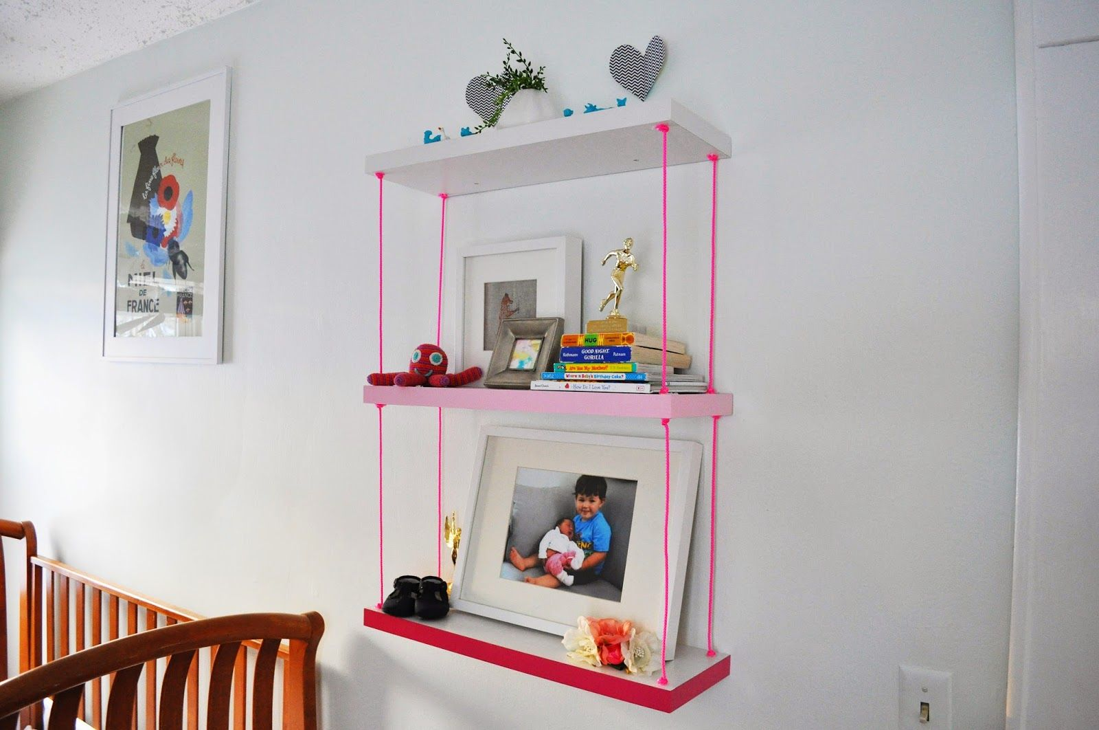 Make shelves as lovely as the items you put on them with these
