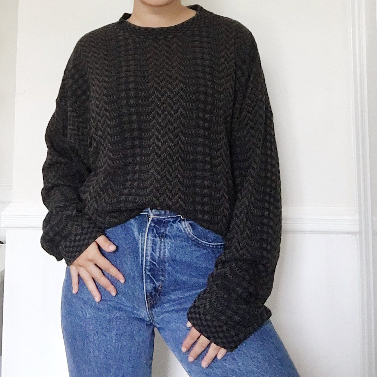 783ae90c834836 Listed on Depop by cecilyyn | flagstaff | Vintage sweaters, Sweaters ...