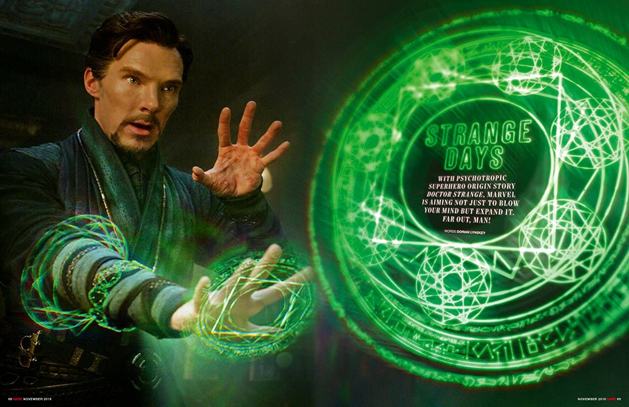 Empire issue preview: Doctor Strange, Jack Reacher and Anna ...