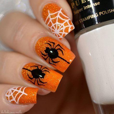 60+ Halloween Nail Art Ideas