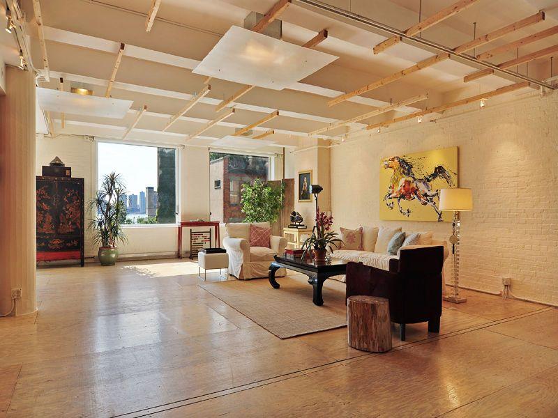 Industrial Style Loft In Manhattan New York City New York Loft Industrial Loft Design Loft Decor