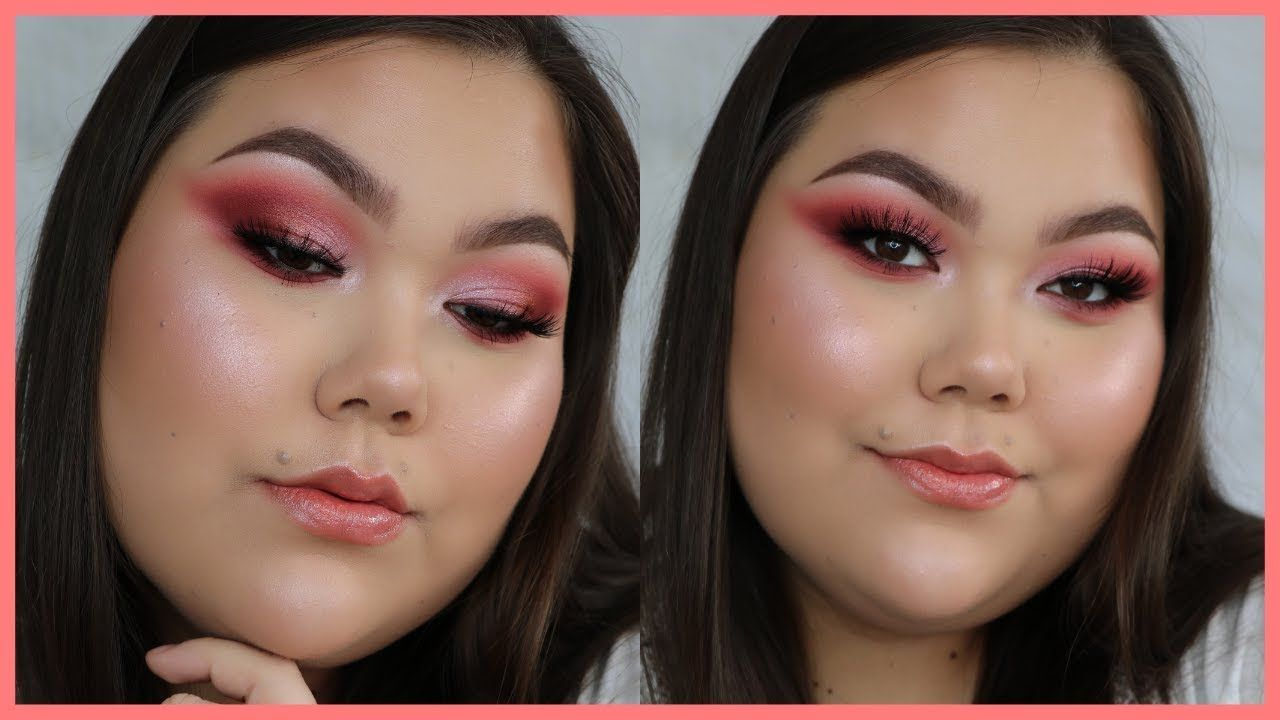 Soft Pink Spring Makeup Tutorial Suva Beauty Rose Period Palette
