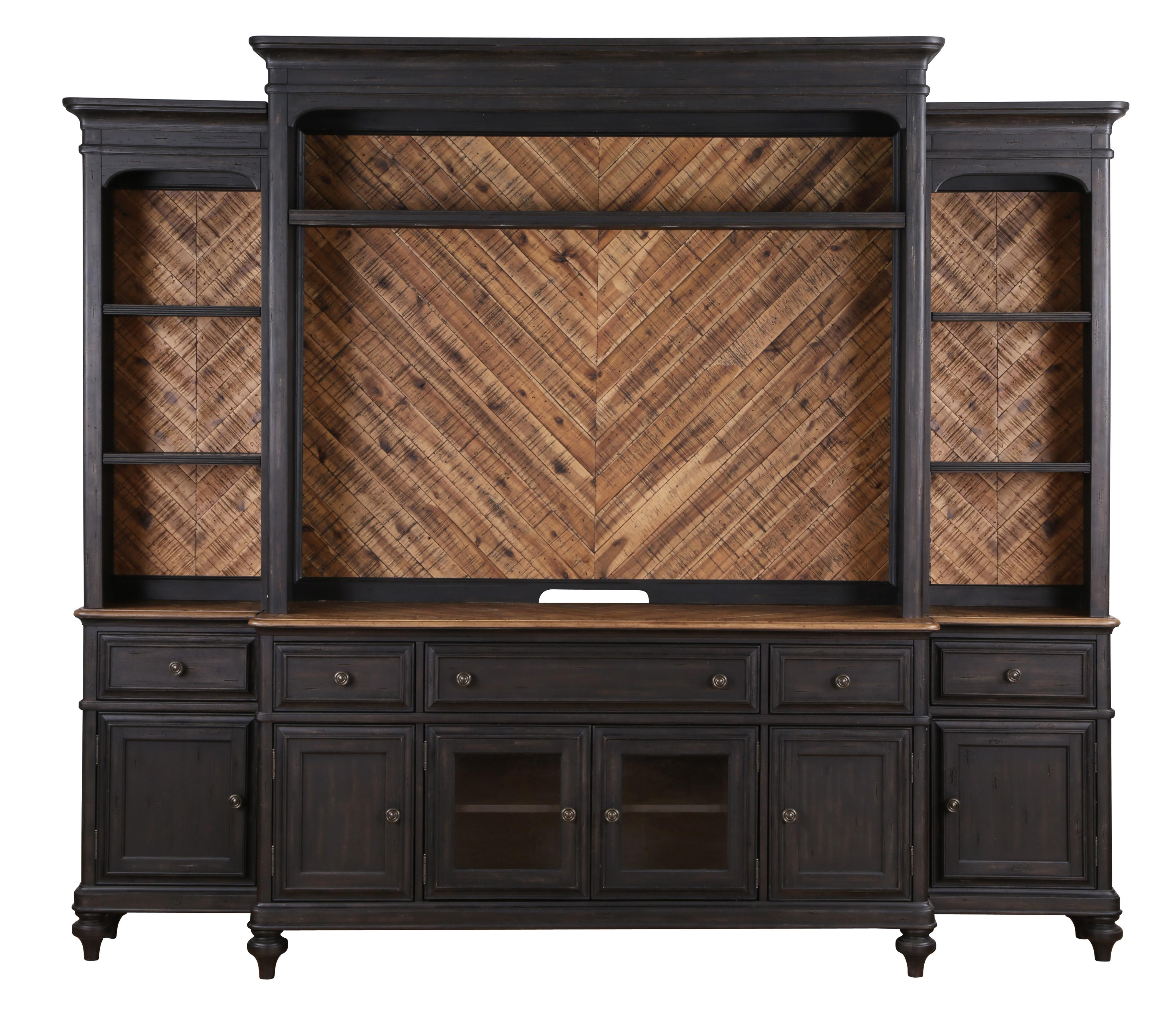 Superb Entertainment Wall Unit With Display Touch Lighting