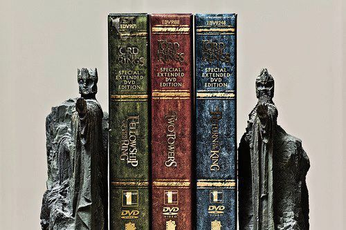 Using The Argonath Bookends For The Extended Edition Dvds The Hobbit Lord Of The Rings Lotr