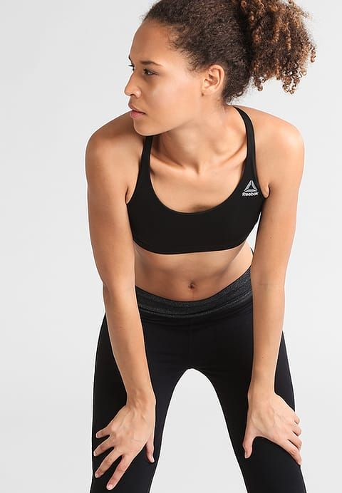 06a6d2cbad1e Reggiseno sportivo - black | Boxe | Sporty girls, Sports, Sporty
