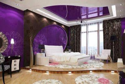 Purple interior design ideas color schemes wall paint combinations also rh pinterest