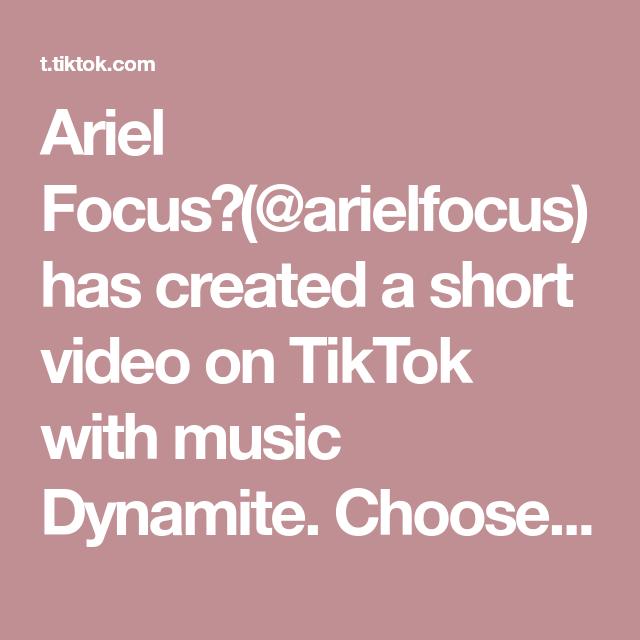 Ariel Focus Arielfocus Has Created A Short Video On Tiktok With Music Dynamite Choose Your Favorite 1 2 3 Photography Mobilephoto Di 2020 Buku Seni Buku Seni
