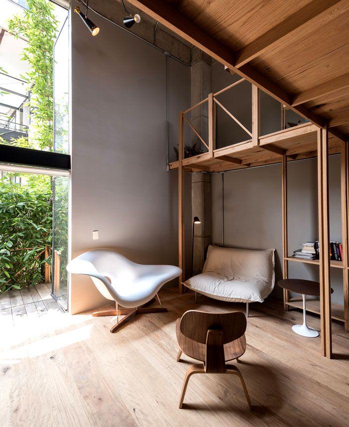 Garden City Apartments: Urban Apartment And Garden In Mexico City