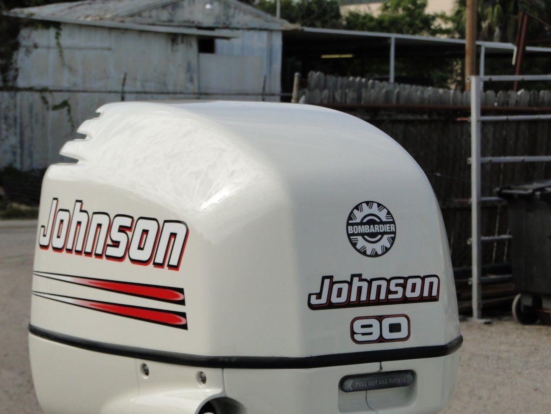 Johnson 90 Hp Outboard Motor Oil service manual