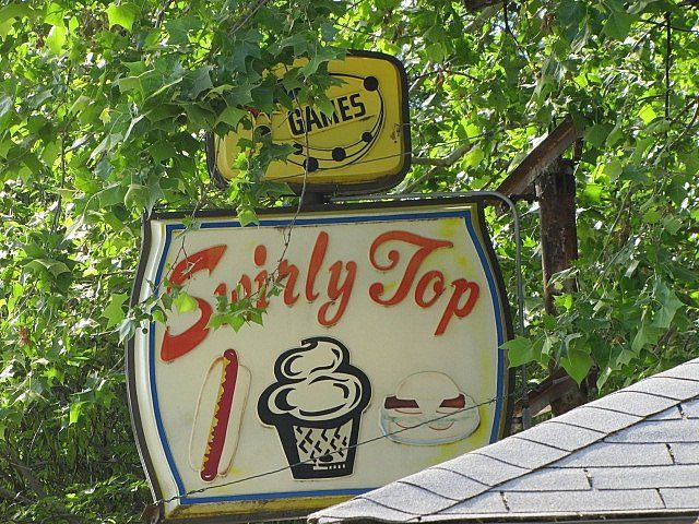Swirly Top    	- Rossville, Kansas--I can remember getting soft serve ice cream cones here as a kid!