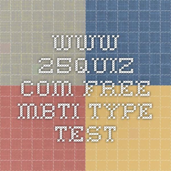 Die besten 25+ Mbti test free Ideen auf Pinterest