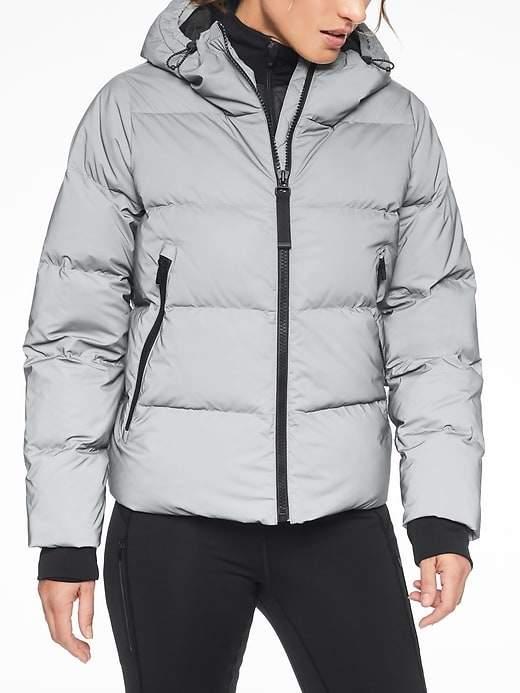 265b486fc91d34 Athleta Snow Down Reflective Jacket