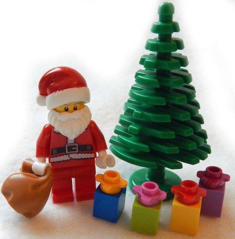 NEW LEGO SERIES 8 SANTA CLAUS MINIFIG 3ef840361