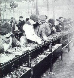 Fostering Efficiency Assembly Lines Introduced By Henry Ford Sped Production But Caused Fatigue Among Workers So He Made History Henry Ford Assembly Line