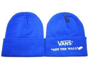 bonnet vans bleu