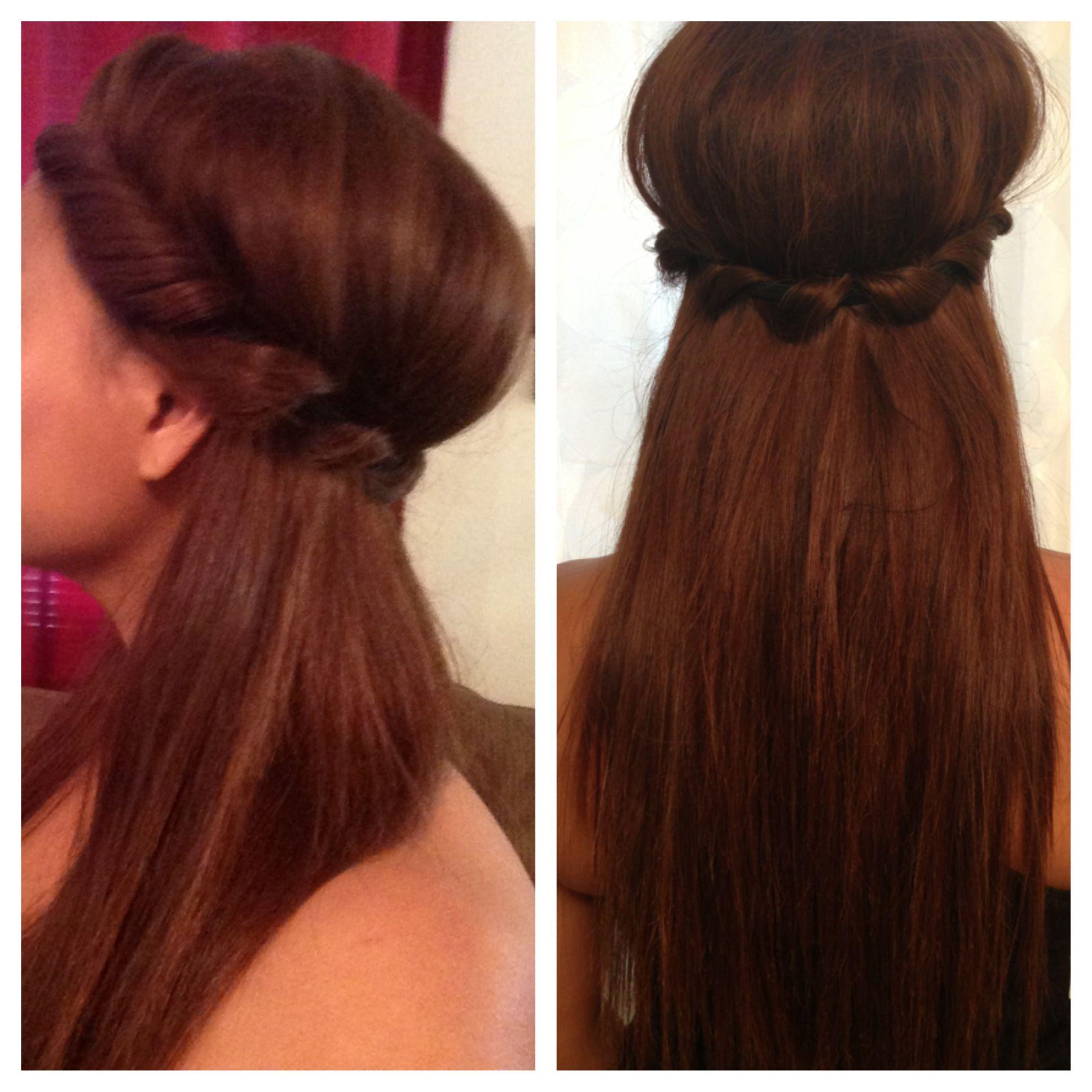Halfway grecian updo grecian hairstyles pinterest halfway grecian updo pmusecretfo Image collections