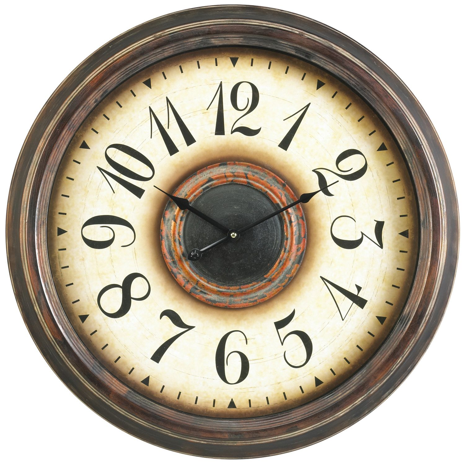 Shop Joss U0026 Main For Your Potter Wall Clock. Enhance Your Homeu0027s Décor With  The Lovely Potter Clock. This Beautiful Wall Clock Features An Aged Bronze  ...