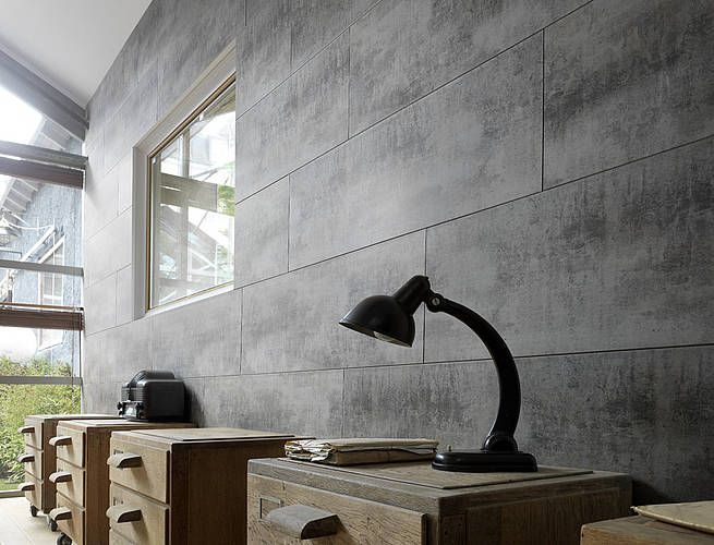 Wall Covering Grosfillex Attitude Oxidized Iron Metal Lambris Lambris Pvc Revetement Mural Pvc