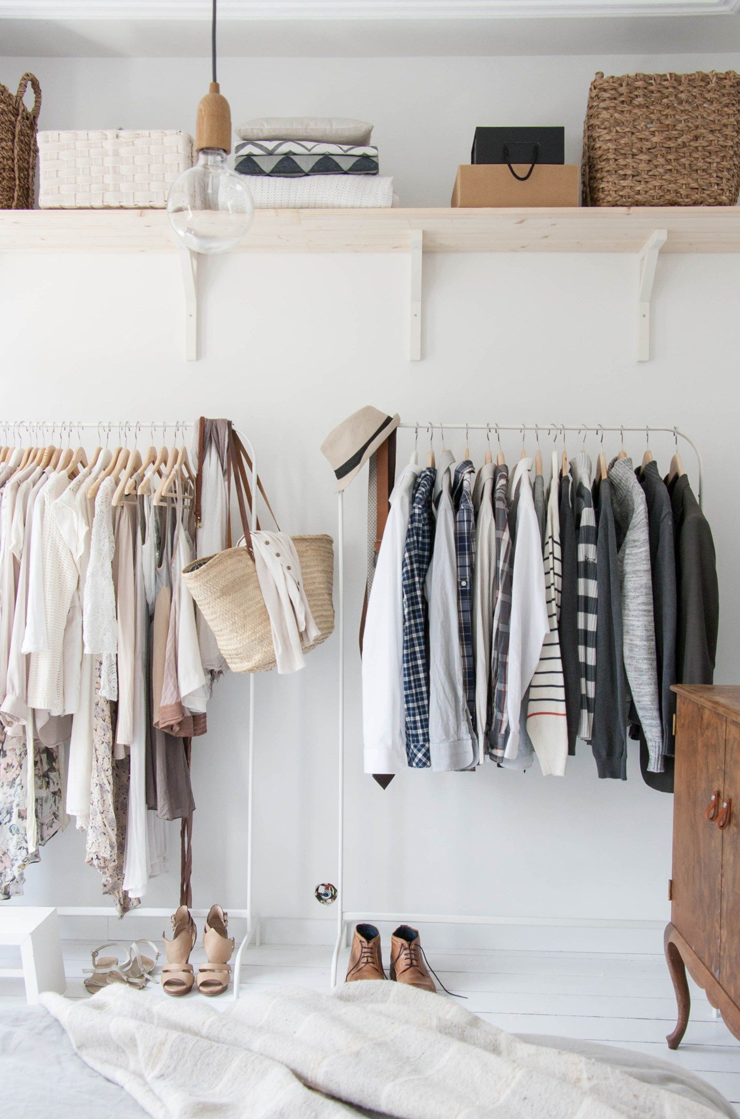 How to Organize Your Room with Style in 10 Steps | Open closets ...
