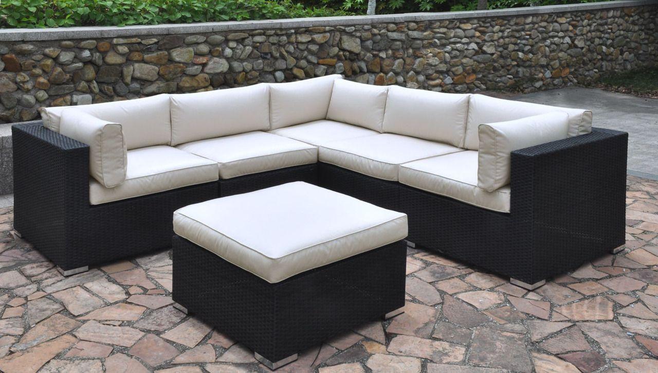 Outdoor L Shaped Sofa Cushions