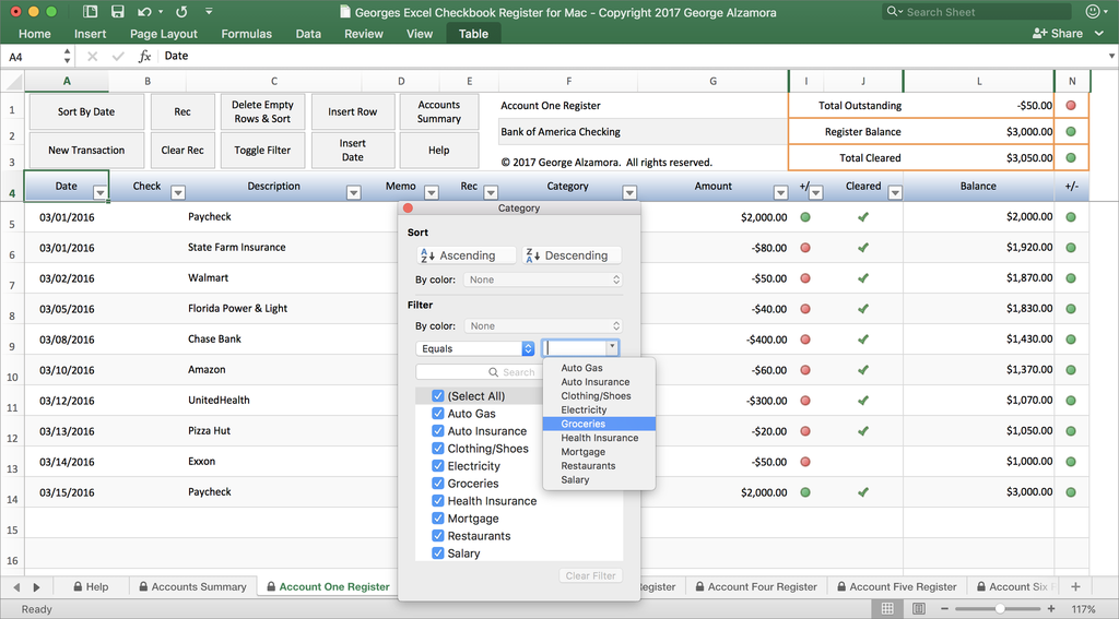 georges excel checkbook for mac v4 0 checkbook software for mac
